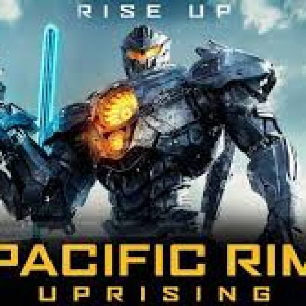 pacific rim uprising - with a giant robot