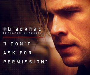 Blackhat featured profile of lead actor Chris Hemsworth