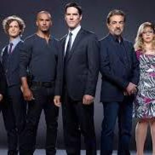 Criminal Minds season 12 cast members including Joe Mantegna, Thomas Gibson and Shemar Moore