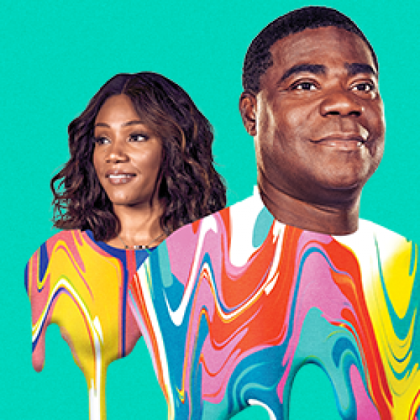 The Last O.G. cast members Tiffany Haddish and Tracy Morgan