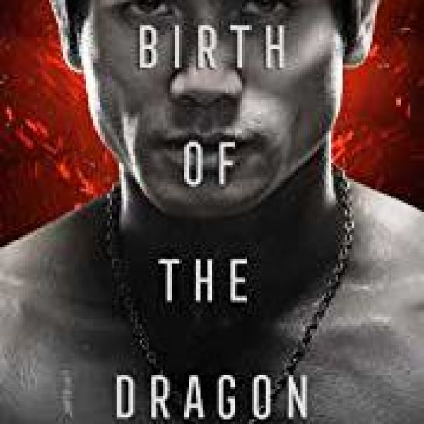 Birth Of The Dragon with partial and upper body of actor Philip Ng as Bruce Lee