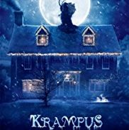 Krampus movie poster showing scary house