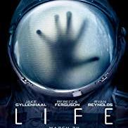 Life poster showing a hand reaching out in a bubble