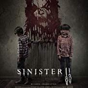 Sinister 2 movie poster with 2 children & scary image