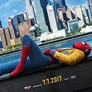 Spider-Man Homecoming with spider-man lounging outside of NY