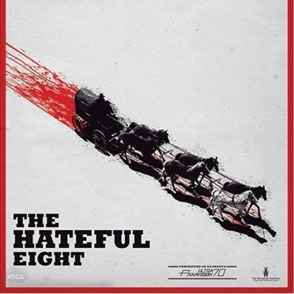 The Hateful Eight Poster with Caravan