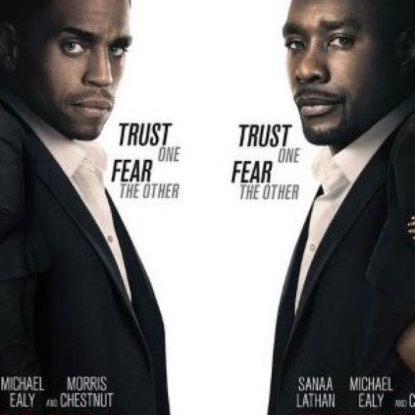 The Perfect Guy poster with leads