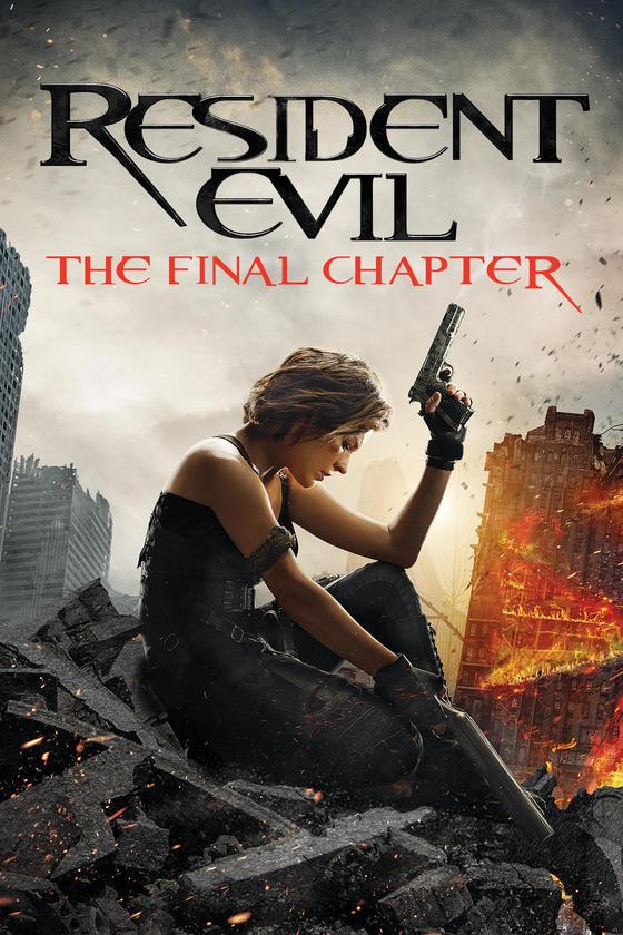 Resident Evil The Final Chapter Roy Samuelson